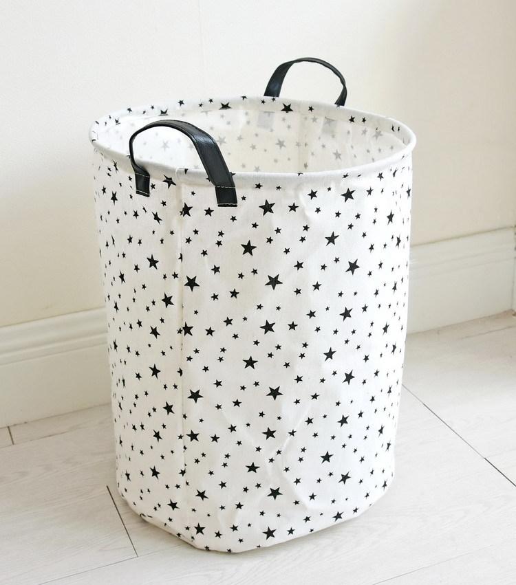 Laundry Basket 35*45 CM Sundries Storage Container Folding Storage Basket Toys Home Clothes Storage Bag Clothes Organizer 11
