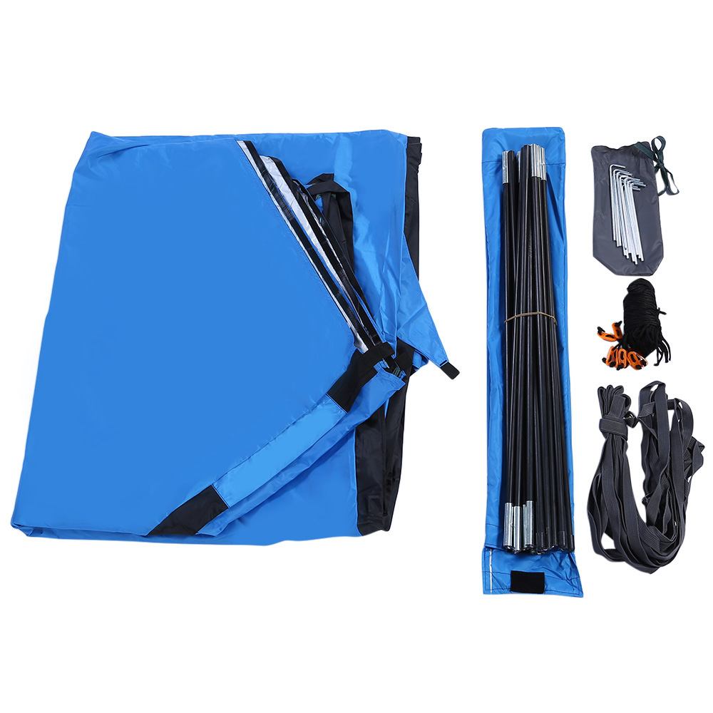 Bluefield 6 8 person Quick setup Beach Canopy Tent UV protective shade waterproof Foldable portable tent for C&ing fishing ect-in Sun Shelter from Sports ...  sc 1 st  AliExpress.com & Bluefield 6 8 person Quick setup Beach Canopy Tent UV protective ...