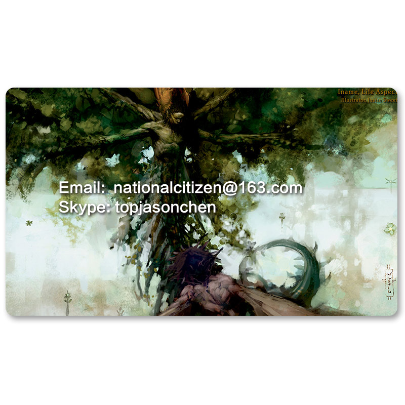 Many Playmat Choices -Iname, Life Aspect- MTG Board Game Mat Table Mat for Magical Mouse ...
