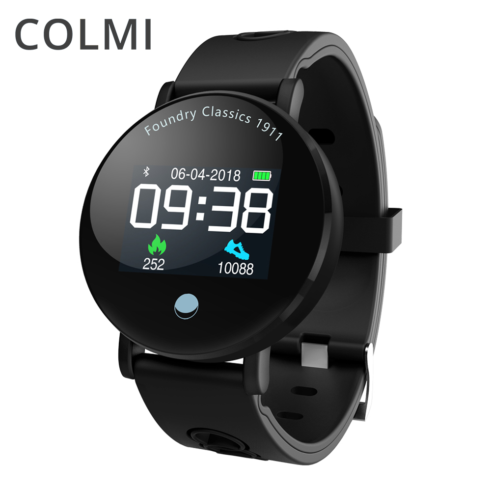 COLMI Smart Watch L1PRO Blood Oxygen Blood Pressure Heart Rate Monitor Waterproof Smart Bracelet Fitness Tracker BRIM Smartwatch colmi smart watch oled screen heart rate blood oxygen pressure brim ip68 waterproof activity tracker for android and ios phone