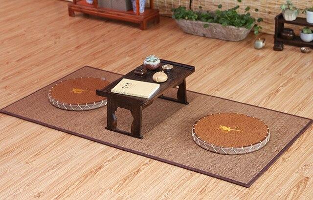 Japanese Tatami Large Bamboo Mat 18090cm Oriental Design Zen Floor