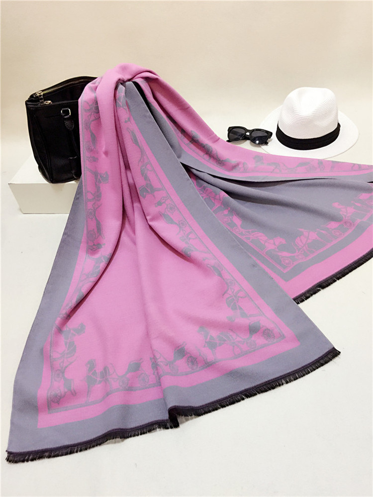 Brand New Cashmere Scarf Long Fashion Casual Warm Shawl Scarf Spring Autumn and Winter thick Women