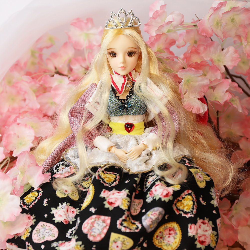 MMG Dream Fairy BJD doll Tarot series Empress with clothes shoes legging mask stand 14 joint