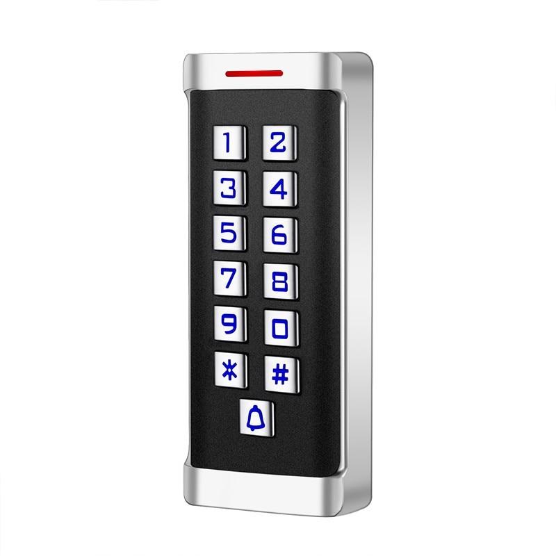 Waterproof standalone access control reader keypad nfc rfid reader