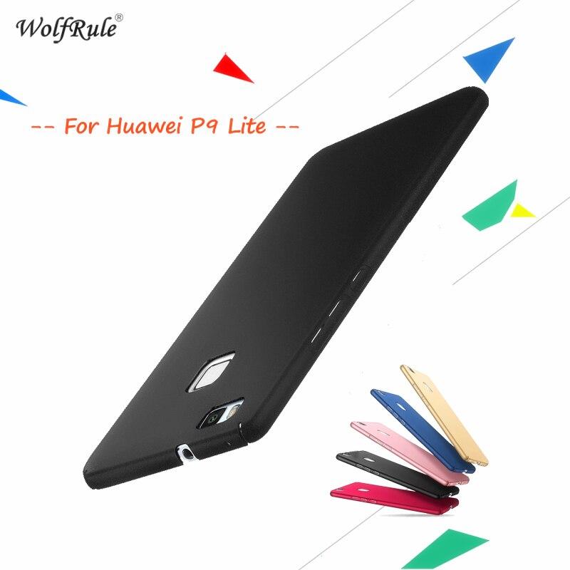 WolfRule For Cover Huawei P9 Lite Väska Anti Knock Ultratunn slät - Reservdelar och tillbehör för mobiltelefoner