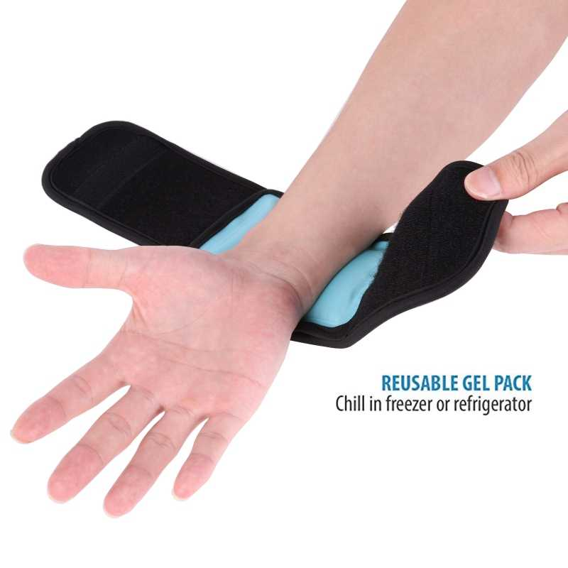 調整可能なラッププロテクターラップ再利用可能なアイスパックゲルラップホットとコールド治療痛み足アーム肘足首新しい