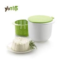 YOTOP PP silikonas Mikrobangų sūrio gamintoja Sveikas Greitas paprastas sūrio gaminimas Pagrindinis virtuvė Virtuvė Desertas Konditerijos pyragas įrankis
