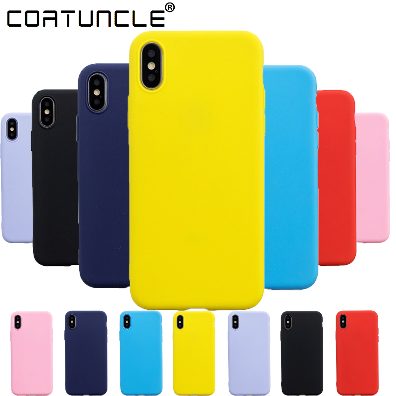 For Coque iphone XS Max Case Silicone Soft TPU Phone Cases on For Fundas iphone 5S