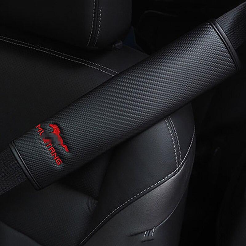 QHCP автомобильные аксессуары сиденье крышку ремня безопасности подушки сиденья авто Безопасность поставок плечевой ремень Крышка для Ford ...