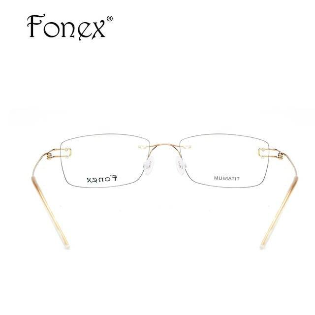 e83409f3ba9 placeholder Screwless Eyewear Korean Glasses Frame Men 2018 Ultralight  Prescription Titanium Eyeglasses Women Rimless Denmark Optical Frames