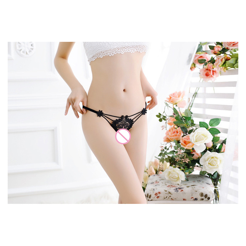 2019 New Sexy Panties Women Underwear Lingerie Lace G-String Panty Briefs Knickers Transparent Thong Lenceria Sexi Para Mujer