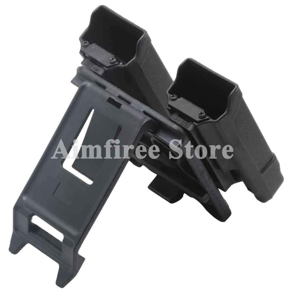 Glock USP P226 Paddle Style Double Magazine Holster Pouch For Gl 9mm 40 Cal  Mags Hunting Accessories Free Shipping