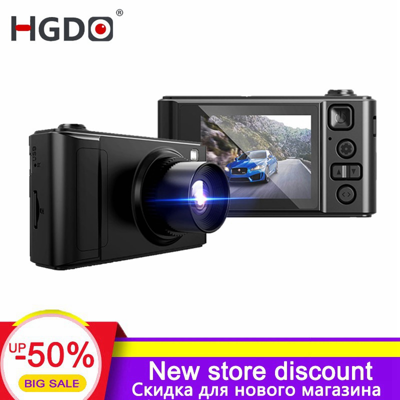 HGDO 2019 Neue Auto dvr Kamera Mini 2,0 zoll Full HD 1080P Video Registrator Recorder G-sensor Nacht vision Dash cam