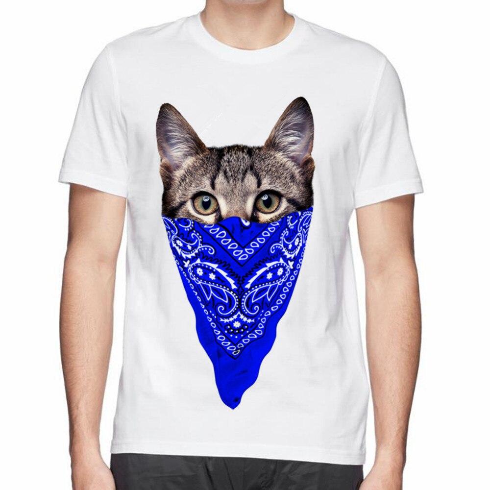 Zebra shirt design - Summer Tee Tops Gangster Cat Cool Zebra Dj Cat Owl Cute Dog Man Cotton T Shirt Hot Beautiful Design Printed Men T Shirt