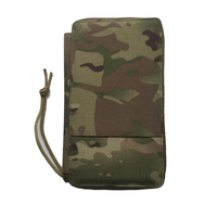 Camouflage Men's Wallet Nylon Fashionable Design Long Purse Vintage Zipper Army Green Wallet With Phone Pocket Card Holder M001