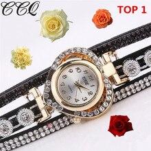 Ladies watches Watches women Rhinestone Crystal Bracelet Dial Quartz Wrist Watch Heart Design Female montre relogio