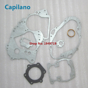 motorcycle TS185 complete gasket include cylinder gaket and engine gakset for Suzuki 2 stroke 185cc TS 185 seal parts(China)
