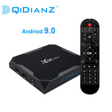 Dqidianz X96max Android 9.0 Smart TV Box Amlogic S905X2 Quad Core LPDDR4 2.4G & 5.8G Wifi BT X96 max Đa Phương Tiện Set Top Box(China)
