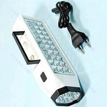 LED Flashlight Mini 38-LED Rechargeable Emergency Light Lamp High Capacity