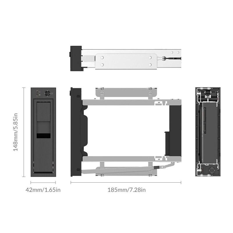 ORICO CD-ROM espacio interno de 3,5 pulgadas SATA3.0 marco HDD Rack ...