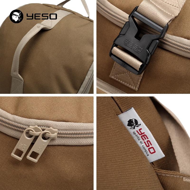 YESO Waterproof Folding Travel Backpack Women Nylon Foldable School Bags For Teenagers Backpacks Unisex Lightweight Rucksacks