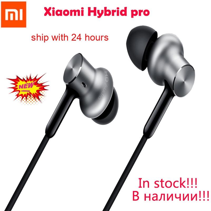 Original Xiaomi Hybrid pro Earphone Mi Piston with Unit Circle Iron Wire voice Control for iPhone 6s xiaomi sports Auriculares