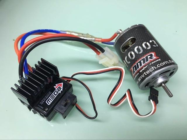 ESC and Motor Power set For RC Cralwer Truck Body 8X8 6X6 4X4 CAPO ...