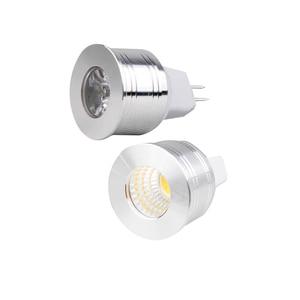 Image 5 - 1W 3W żarówka LED MR16 12V ściemniania 35mm Mini żarówka Spotlight GU5.3 GU10 E27 COB lampy 220V 110V