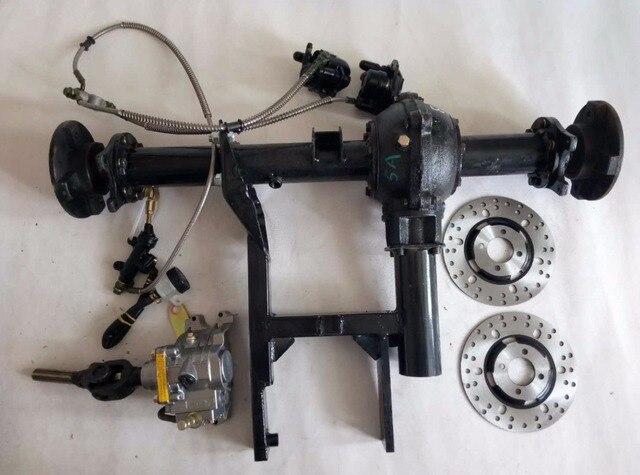 atv go kart karting diy disc disk rotor brake reverse gear. Black Bedroom Furniture Sets. Home Design Ideas
