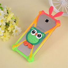 For Samsung Galaxy S i9000 GT-I9000 S Plus i9001 GT-I9001 Universal Cartoon Silicon Frame Universal Cover Phone Cases 3.7-6.0''