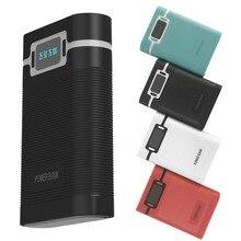 Boîtier de batterie externe Portable Anti inverse 4x18650 (sans batterie) bricolage chargeur de batterie 5 V 2A Powerbank étui pour iphone Huaw
