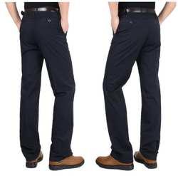 Хлопковые повседневные брюки для мужчин среднего возраста; сезон весна-лето; WX/DL01