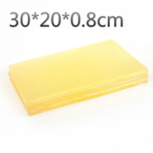 DIY handmade rubber Ling cut protective plate pad leather punched pad 30 * 20 * 0.8cm