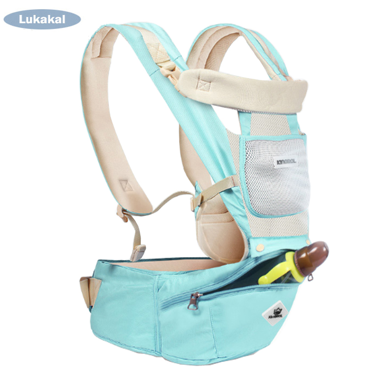 Ergonomic Baby Carrier Backpack Orthopedic Recommend Infant Baby Kangaroo Newborn Liying Down Backboard Baby Sling Hipseat