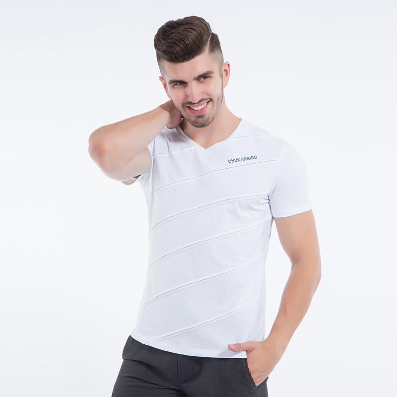 Liseaven Mens T Shirt Slim Fit Crew- ի պարանոցի - Տղամարդկանց հագուստ - Լուսանկար 6
