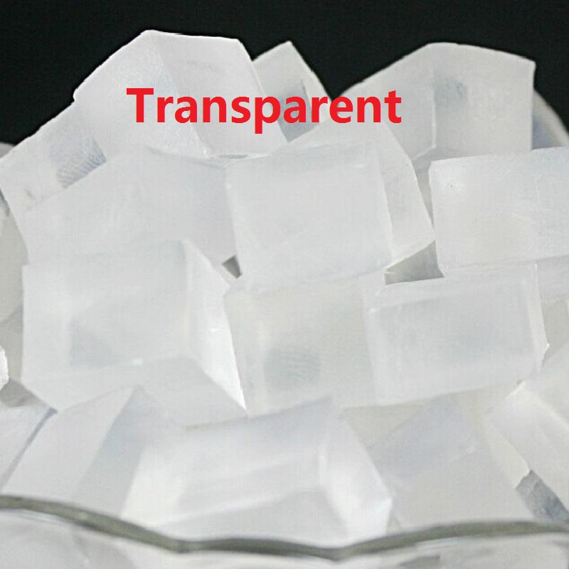 1000gram/Pack Transparent&White Soap Base DIY Hand Making Soap Raw Material Handmade Soap Raw Materials Glycerin Soap Making