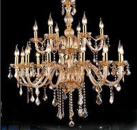 Style crystal chandelier crystal light chandelier modern living room minimalist dining room light chandeliers atmosphere