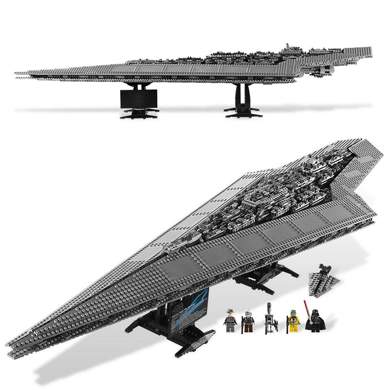 In Stock Lepin 05028 New 3208Pcs Star Plan Series The Super Star Destroyer Model Blocks Bricks 10221 Educational Toys For Kids lepin 05028 3208pcs star wars building blocks imperial star destroyer model action bricks toys compatible legoed 75055