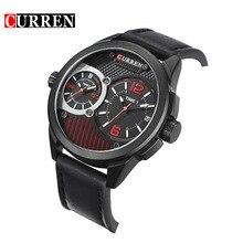 CURREN Nuevo Cuarzo Reloj de Los Hombres Relojes de Primeras Marcas de Lujo Famoso Reloj Relogio masculino Reloj Hombre Reloj de Pulsera de cuero de regalo