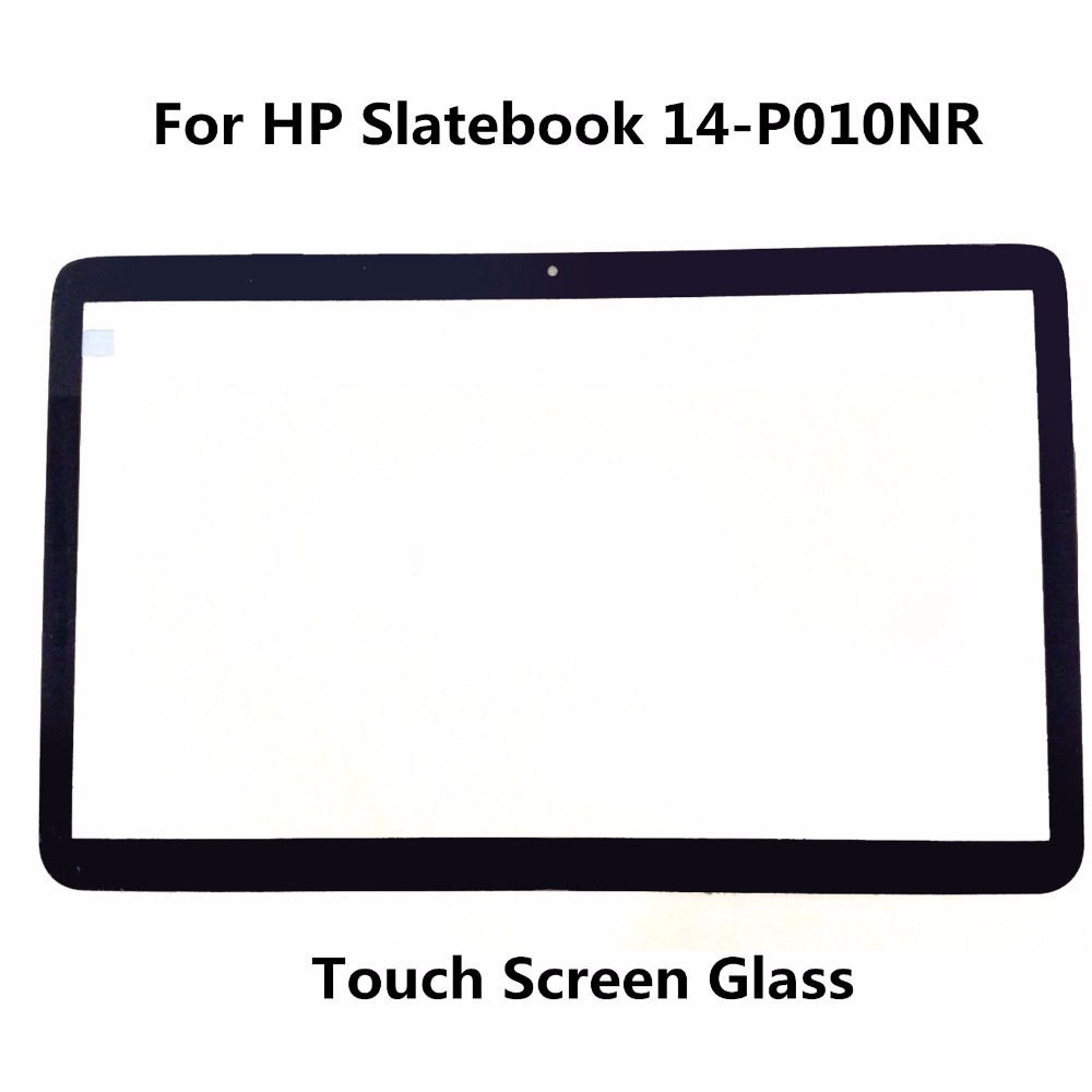 LCDOLED Original New 14  Laptop Touch Screen Glass Lens Panel Digitizer Replacement Repair Parts For HP Slatebook 14-P010NR original touch screen digitizer for ipad mini2 white black new tp ic replacement glass screen
