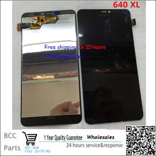 Best quality For Nokia Lumia 640XL LCD display +Touch Screen digitizer  Original quality,BlackTest ok