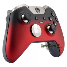 Shadow Red Top Front Housing Shell Faceplate Cover for Xbox One Elite Controller