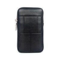 Для мужчин Натуральная Кожа Фанни Талия сумка ячейка/мобильный телефон портмоне карман пояса Сумочка пакет Винтаж набедренная сумка Высокое качество 2018