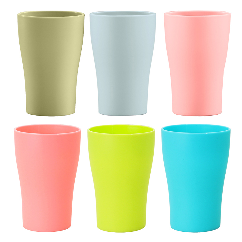 Plastic Tumblers, 10-ounce, 6 Classic Colors - Reusable, Great For Weddings, Parties, Events plastic