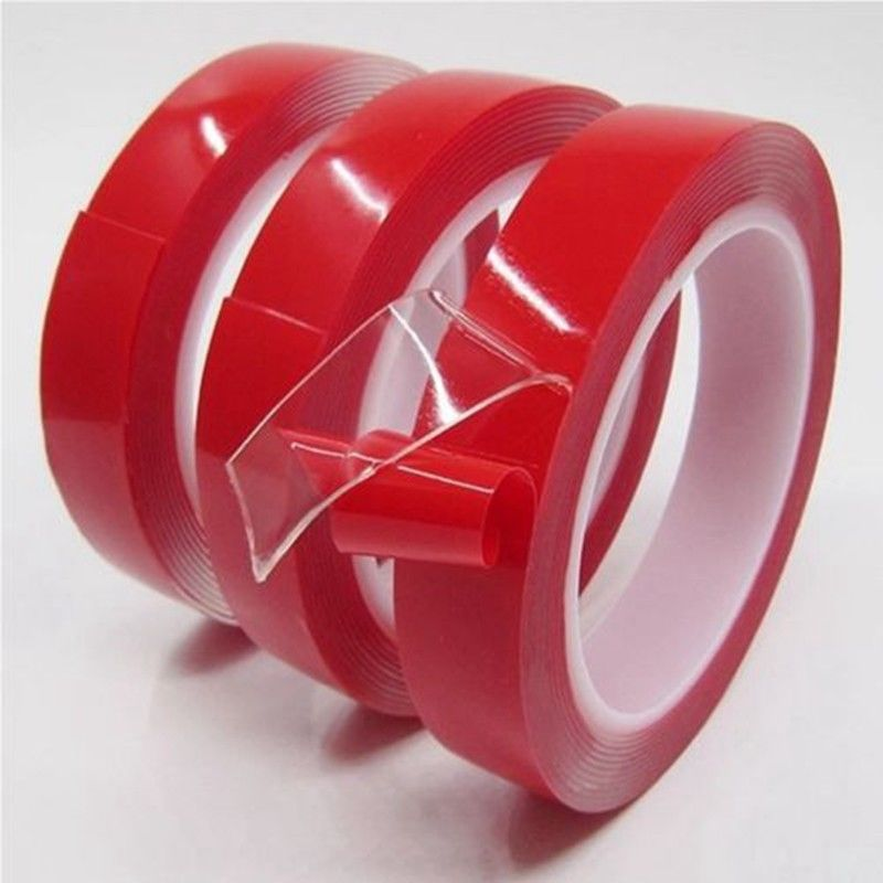 1pcs 3m Double Sided Adhesive Tape High Strength Acrylic Clear No Traces Sticker for Car Fixed Phone Tablet LCD Screen цена