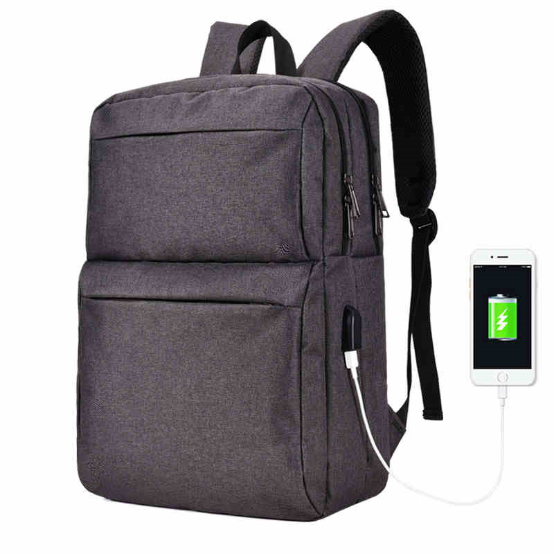 2017 NEW Brand External USB Charge Computer Bag laptop backpack men 15 15.6 inch for Men Women Canvas Notebook Backpack гель la roche posay effaclar duo[ ] unifiant