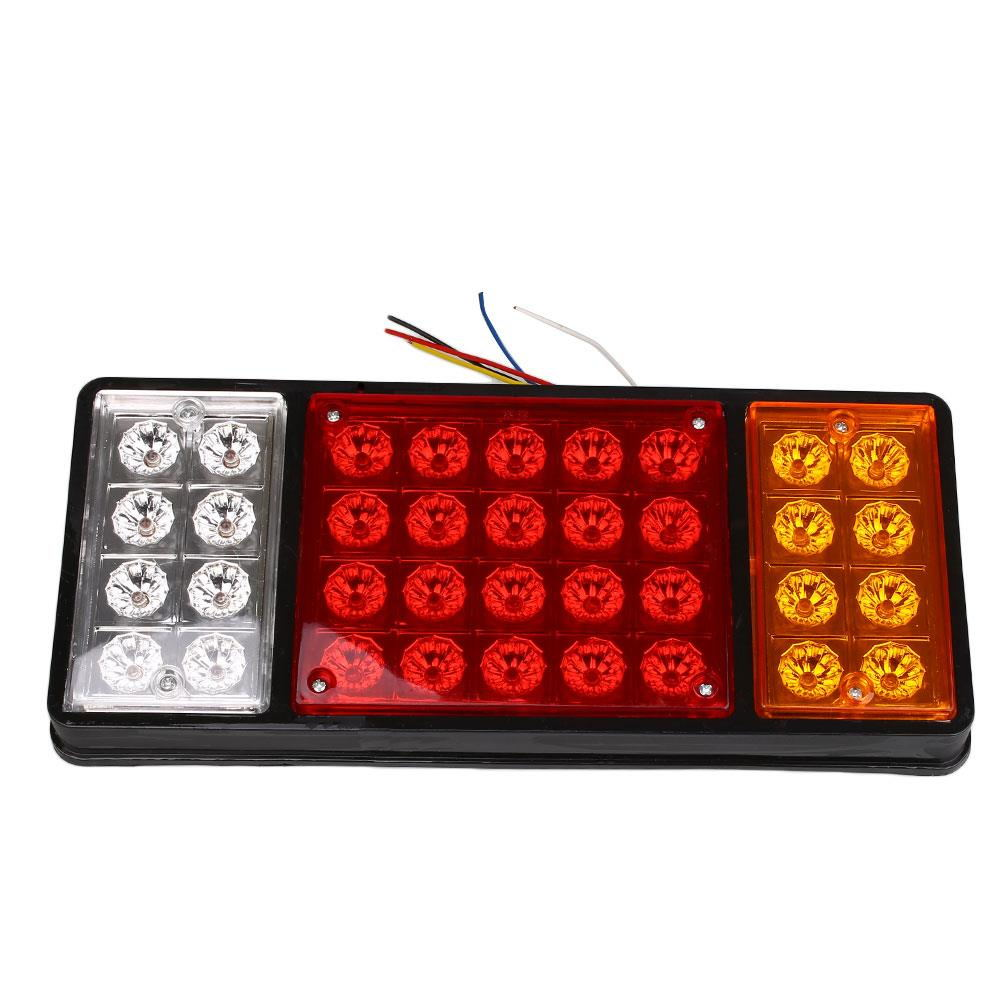24V 36 LED Trailer Truck Rear Tail Lights Indicator Lamp Caravan Lorry Car