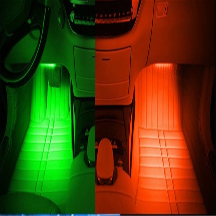 Car interior. LED dimming lamp accessories. for Hyundai Solaris IX25 IX35 Tucson Sonata Elantra MISTRA Santafe VERNA sticker