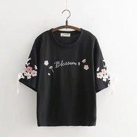 DZ T shirt Wome shirt funny stick figures cute t shirt women fashion brand harajuku tops X203