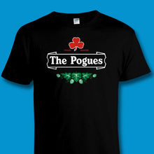 лучшая цена FUNNY IRISH PUNK MUSIC / 'THE POGUES' BEER MASH-UP TRIBUTE T SHIRT Sizes to 4XL New T Shirts Funny Tops Tee New Unisex Funny